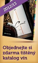 Tištěný katalog vín zdarma